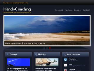 Réalisation web : Handi-Coaching