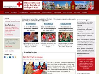 Réalisation web : Croix-Rouge de La Rochelle