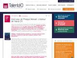Entretien avec Philippe Manaël (Handi-cv.com) sur le blog Talentéo
