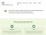 Réalisation web : Cabinet Handispensable, Conseil Recrutement Formation